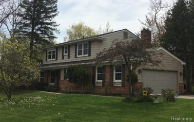 4566 Middleton Drive, West Bloomfield Twp, MI 48323 - MLS#: 218044293