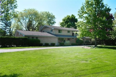 7199 Chula Vista Lane, Bloomfield Twp, MI 48301 - MLS#: 218044521