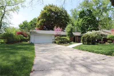 3615 Middlebury Lane, Bloomfield Twp, MI 48301 - MLS#: 218044743