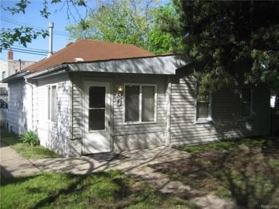 54 Walnut Street, River Rouge, MI 48218 - MLS#: 218045249
