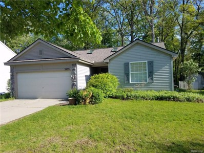 3339 Hilltop Drive, Holly Vlg, MI 48442 - MLS#: 218045510