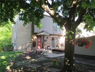 615 Oakbrook W., Rochester Hills, MI 48307 - MLS#: 218045626