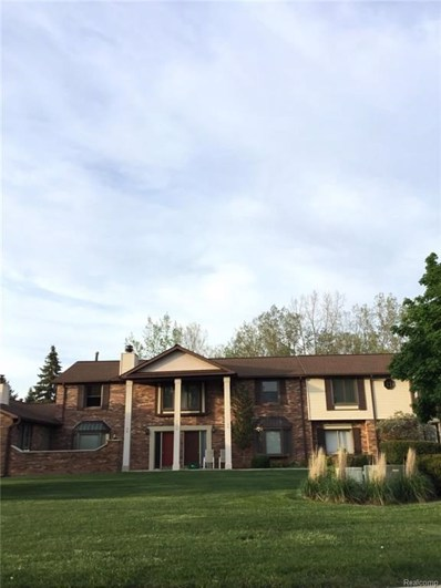 2233 London Bridge Drive UNIT 39, Rochester Hills, MI 48307 - MLS#: 218046084