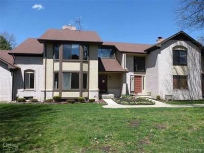 20459 Villa Grande Circle, Clinton Twp, MI 48038 - MLS#: 218046568