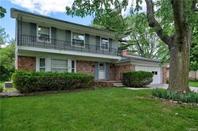 796 Wilwood Road, Rochester Hills, MI 48309 - MLS#: 218048473