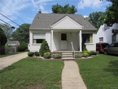 3460 Edgewood Street, Dearborn, MI 48124 - MLS#: 218048617