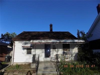 18560 Hanna, Melvindale, MI 48122 - MLS#: 218048742