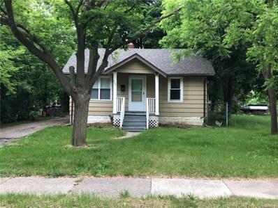 800 Emerson Avenue, Pontiac, MI 48340 - MLS#: 218048927
