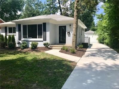 3221 Shenandoah Drive E, Royal Oak, MI 48073 - MLS#: 218048932