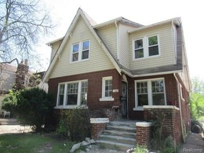 3221 Taylor Street, Detroit, MI 48206 - MLS#: 218050662