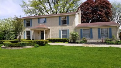 54500 Merkel Lane, Shelby Twp, MI 48316 - MLS#: 218050831