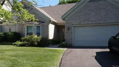35460 Woodfield Drive Drive, Farmington Hills, MI 48331 - MLS#: 218051284