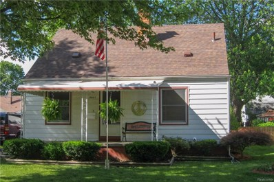 15887 Dasher Avenue, Allen Park, MI 48101 - MLS#: 218051302