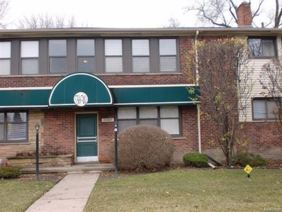 25987 Woodward Avenue UNIT 208, Royal Oak, MI 48067 - MLS#: 218052355