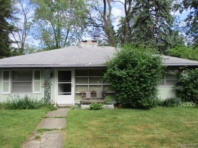 18410 Appleton Street, Detroit, MI 48219 - MLS#: 218052591