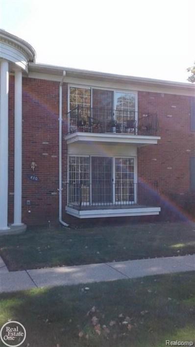 430 Fox Hills Drive N UNIT A-6, Bloomfield Twp, MI 48304 - MLS#: 218052683
