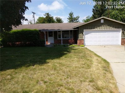 2831 16th Ave Avenue, Port Huron, MI 48060 - MLS#: 218052986