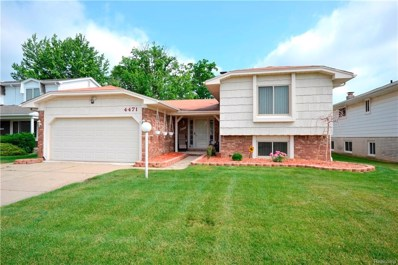 4471 Bloomfield Drive, Sterling Heights, MI 48310 - MLS#: 218053439