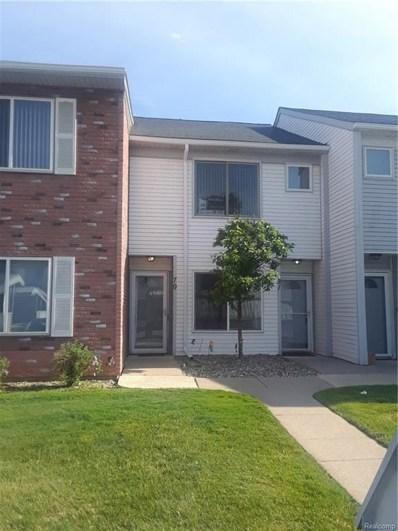 81 Rosebud Lane, Mount Clemens, MI 48043 - MLS#: 218054078