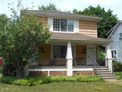 316 Hillcrest Avenue, Grosse Pointe Farms, MI 48236 - MLS#: 218054560