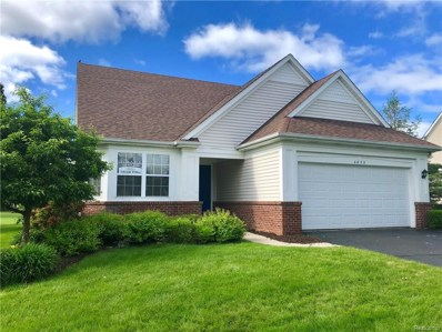 4832 New Haven Drive, Genoa Twp, MI 48843 - MLS#: 218054689