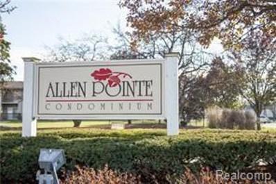 10103 Allen Pointe Drive UNIT 126, Allen Park, MI 48101 - MLS#: 218055502