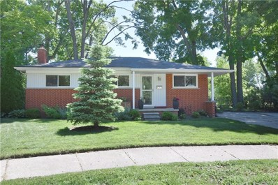 722 Fairway Drive, Royal Oak, MI 48073 - MLS#: 218056077