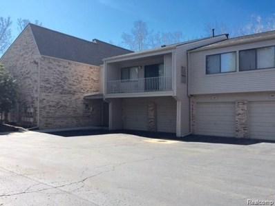 3845 S Lone Pine  Apt 100 Road S UNIT 50, West Bloomfield Twp, MI 48323 - MLS#: 218057584