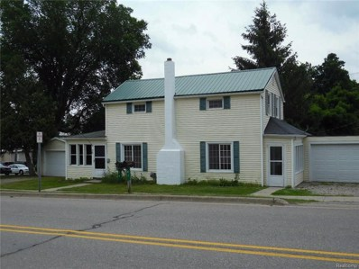 39 W High Street, Metamora Vlg, MI 48455 - MLS#: 218058328