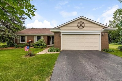 1870 Bamby Lane, Milford Twp, MI 48381 - MLS#: 218058746