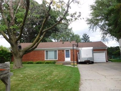 36410 Summerset Street, Sterling Heights, MI 48312 - MLS#: 218059018