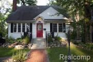 930 Woodcrest Drive, Royal Oak, MI 48067 - MLS#: 218059268
