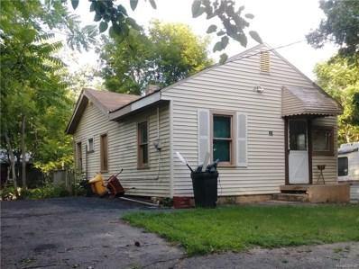 46 Omar Street, Pontiac, MI 48342 - MLS#: 218060058