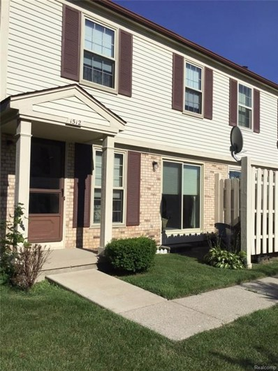 1512 Dover Hill S, Walled Lake, MI 48390 - MLS#: 218060474