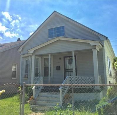 8403 Whittaker Street, Detroit, MI 48209 - MLS#: 218061379