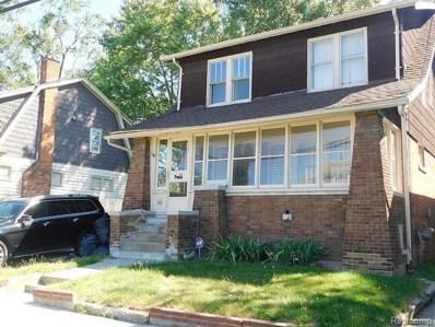 378 Ashland Street, Detroit, MI 48215 - MLS#: 218062280
