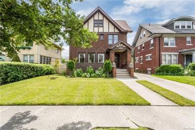1955 Edison Street, Detroit, MI 48206 - MLS#: 218062547