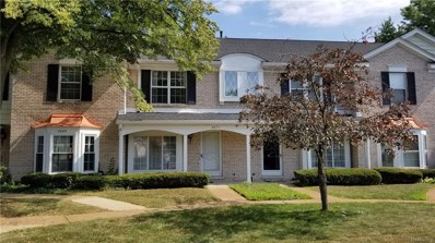 2671 Williamsburg Circle, Auburn Hills, MI 48326 - MLS#: 218063450