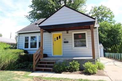 85 W Brockton Avenue, Madison Heights, MI 48071 - MLS#: 218063586