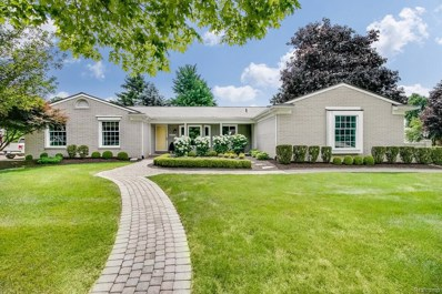 46355 Green Valley Road, Plymouth Twp, MI 48170 - MLS#: 218064259
