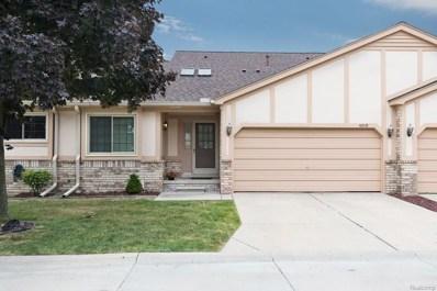 42113 Hidden Brook Drive, Clinton Twp, MI 48038 - MLS#: 218064516