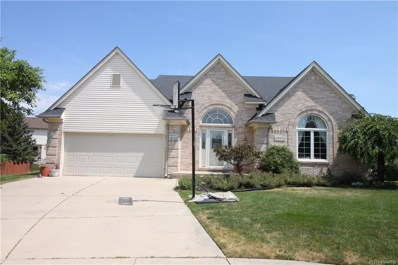 20929 Hackel Court, Clinton Twp, MI 48038 - MLS#: 218064624