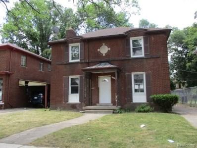 19153 Monte Vista Street, Detroit, MI 48221 - MLS#: 218065139