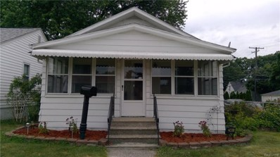 23465 Battelle Avenue, Hazel Park, MI 48030 - MLS#: 218065301