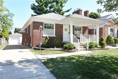22522 Marlboro Street, Dearborn, MI 48128 - MLS#: 218065600