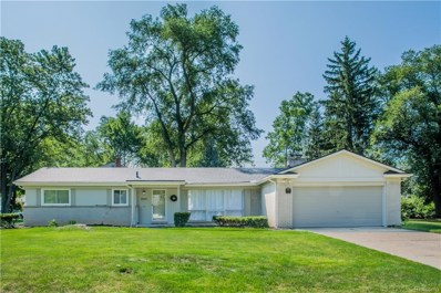 32177 Red Clover Road, Farmington Hills, MI 48334 - MLS#: 218066402