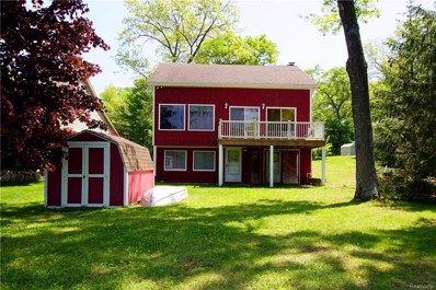 8677 Hidden Lake Drive, Deerfield Twp, MI 48855 - MLS#: 218066433