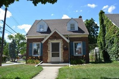 301 Nash Street, Dearborn, MI 48124 - MLS#: 218066541