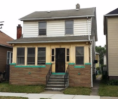 7233 Gartner St, Detroit, MI 48209 - MLS#: 218066571