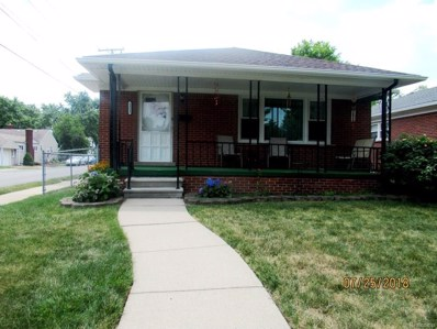 1353 Merrill Avenue, Lincoln Park, MI 48146 - MLS#: 218069034